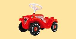 Bobby-Cars und Rutscher